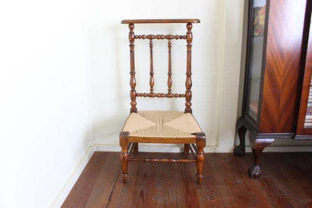 フランスの教会の椅子