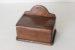 昔キッチンでマッチを入れていたボックス|ふた付き木製セルボックスは玄関で鍵を入れておくのにお薦め!