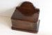 デスク回りや玄関など狭いスペースで小物の整理にふた付き木製セルボックス