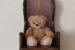 大切なお人形、ぬいぐるみのための椅子。ウィングバックドールチェア No.1938